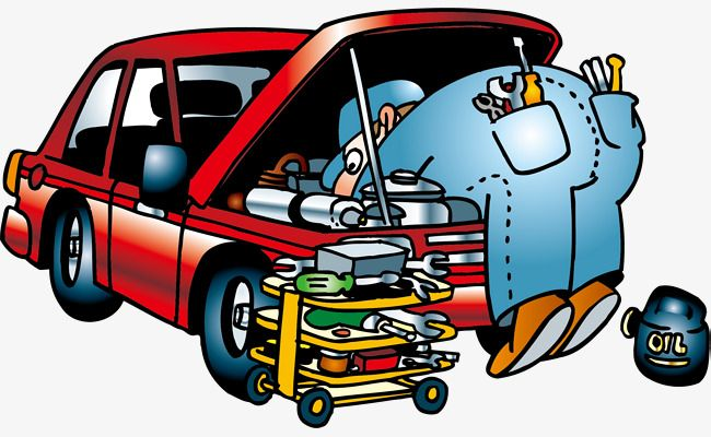 Car Repair People Automotivo Aniversario Super Herois Auto