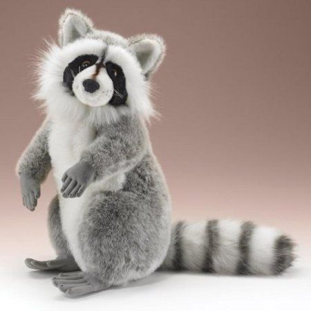 Wildlife Artists Raccoon Extra Large Plush Toy 18 High - Walmart.com ...
