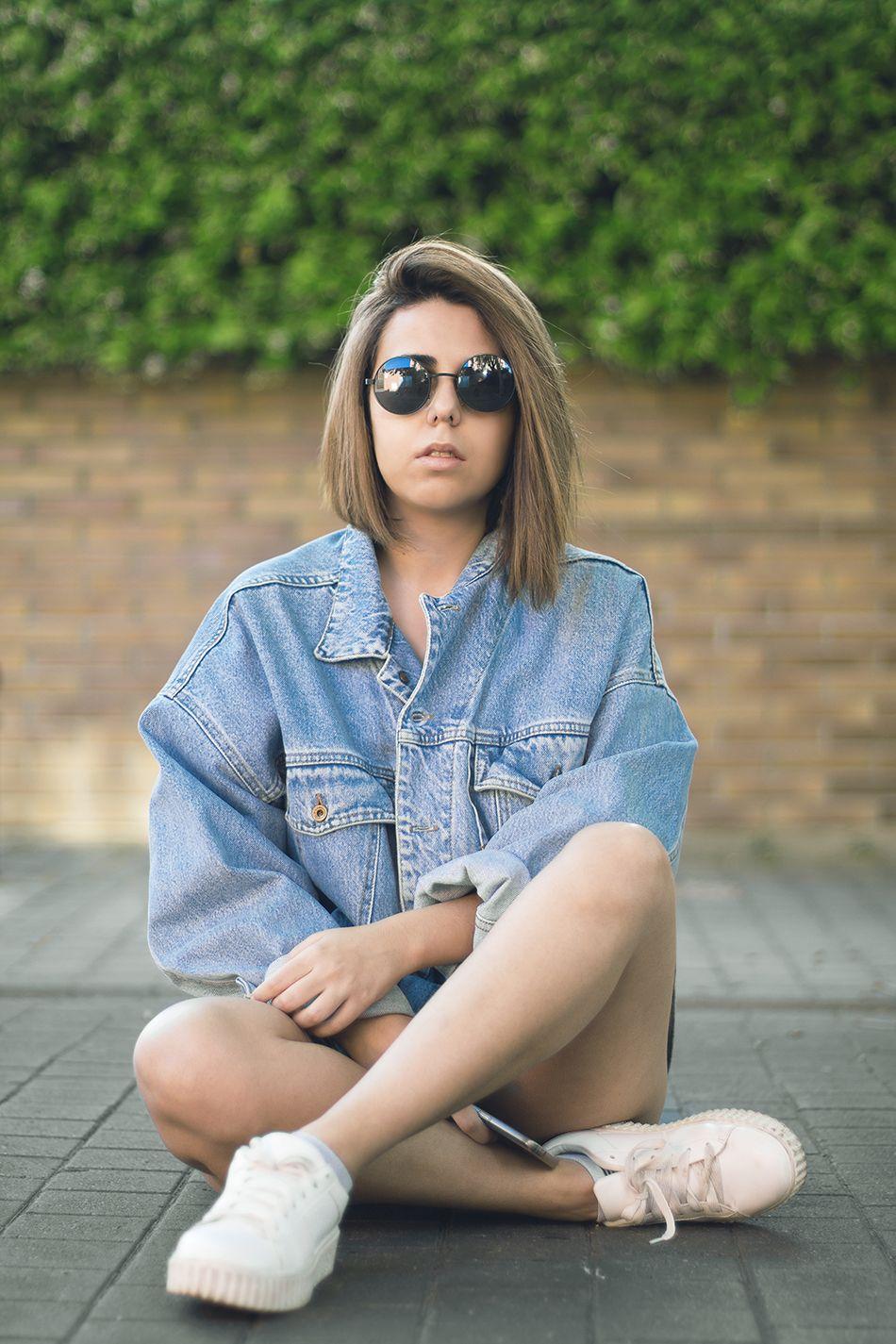 Instagram Instagramer Girl Denim Jacket Levis Tumblr Pic Picture