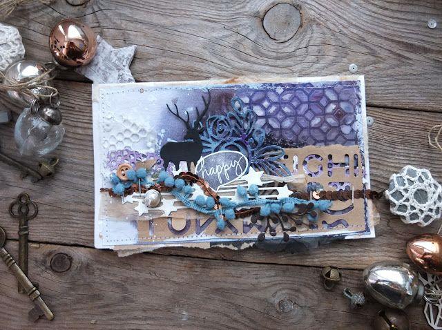 Всем привет, с вами  Ольга Winged   Розы для зимних работ? - Почему бы нет, это же розочки форева :) В моей открытке они больше похожи на ...