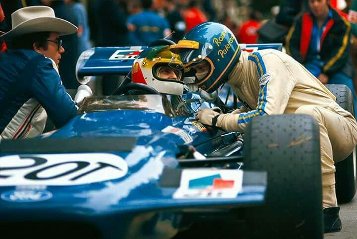 Johnny Servoz Gavin…Tyrrell Racing Organisation…March 701…Motor Ford Cosworth DFV V8 3.0…#23 Ronnie Peterson…Antique Automobiles Racing Team…GP Monaco 1970