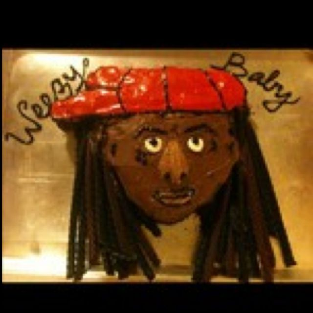 Stupendous Lil Wayne Birthday Cake Weezy Baby With Images Diy Crafts Personalised Birthday Cards Petedlily Jamesorg