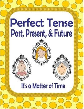 Perfect Tense Past Present And Future Perfect Tense Activity
