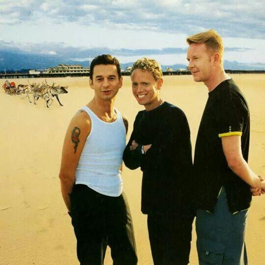 Depeche Mode Christmas card 2000