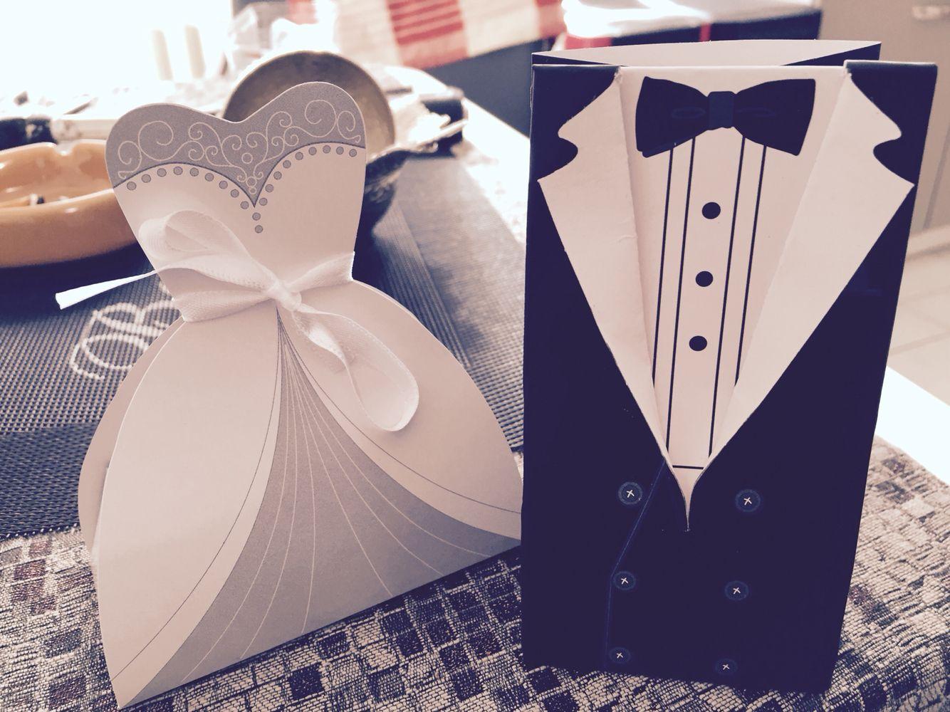 Hochzeits - Gastgeschenke zum befüllen ..niedlich :)