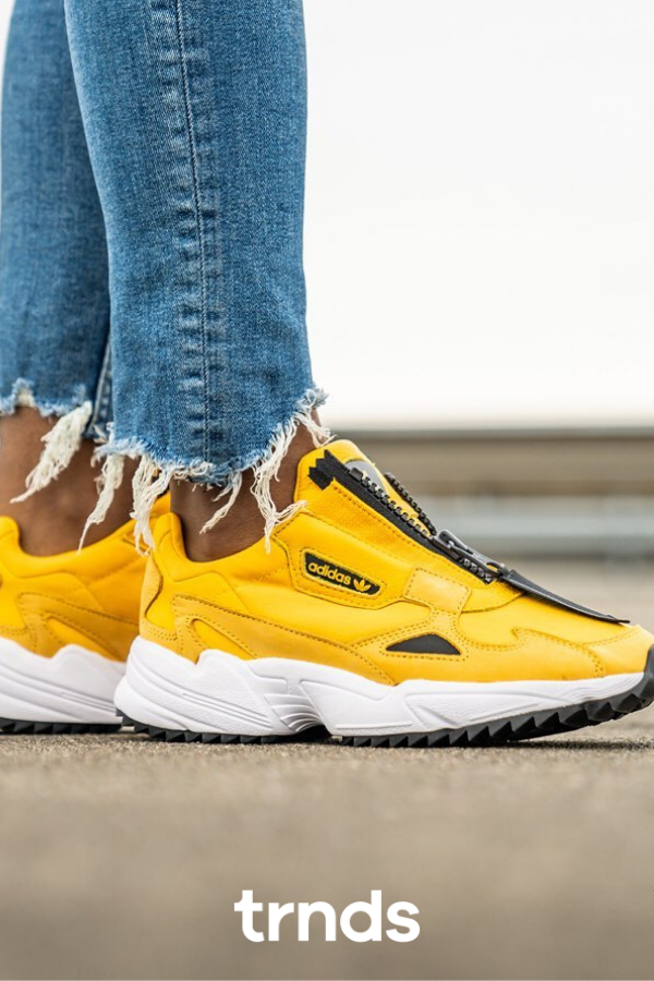 Adidas Falcon Zip Active Gold/Black for