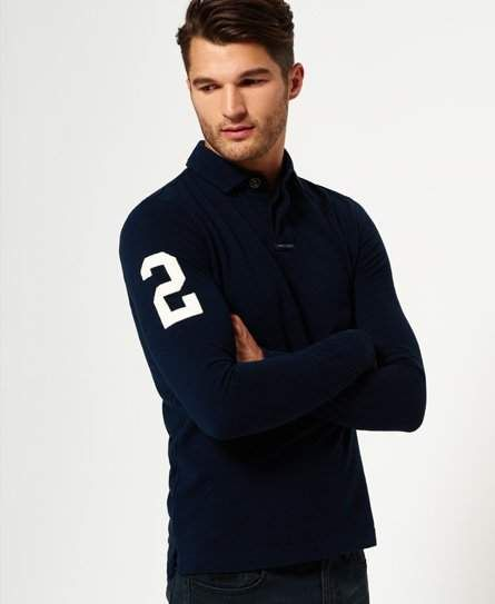 Academy Rugby Long Sleeve Polo Shirt Academy Rugby Long Sleeve Polo Shirt Woman Polo Shirts long polo shirts womans
