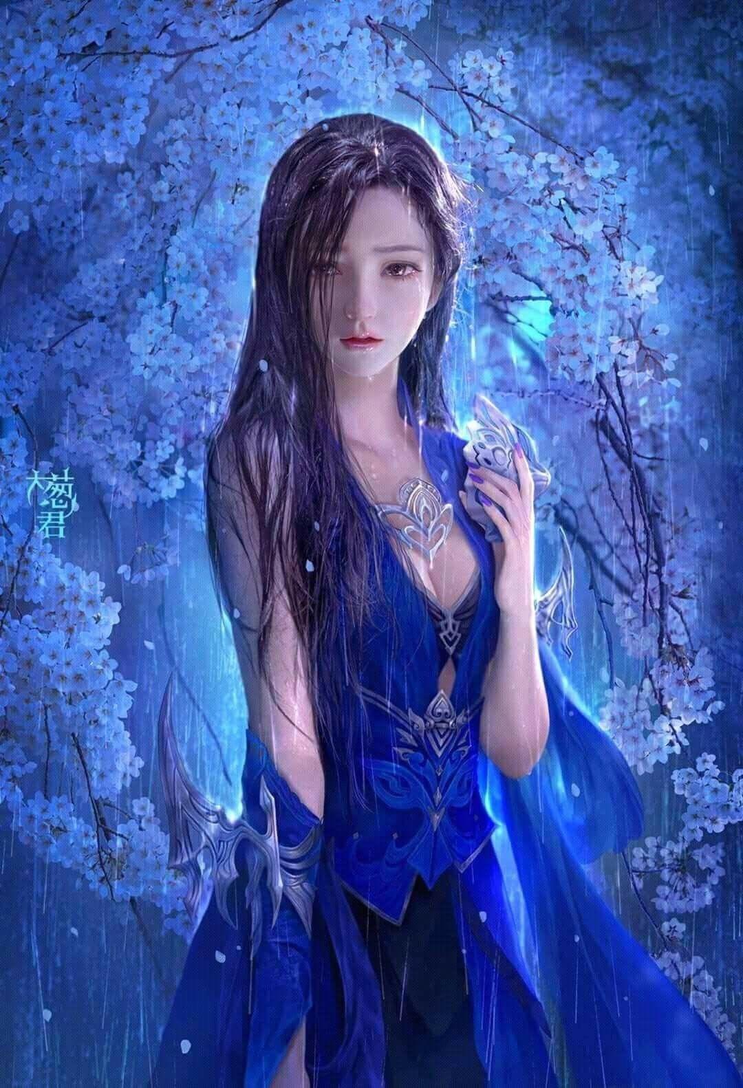 картинки фэнтези красивые китаянки всех эффективных