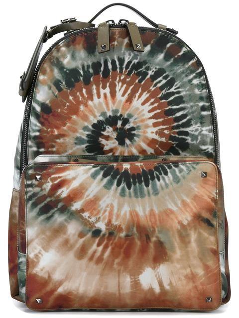 Valentino Valentino Garavani 'Rockstud Tie&Dye' backpack