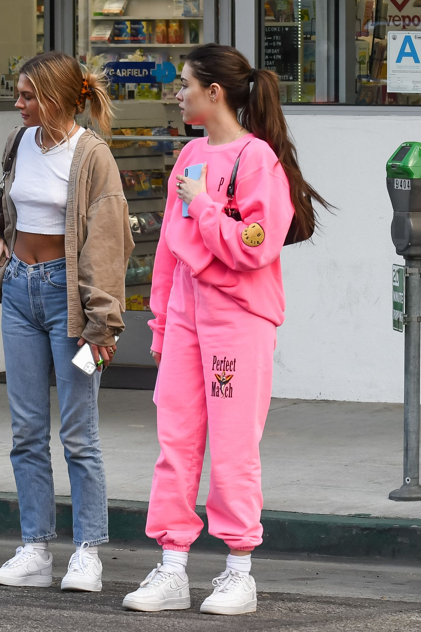 Madison Beer Out in Los Angeles 02/21/2020. #fashion #outfits #celebrityfashion #celebritystyle  #celebritystreetstyle #streetstyle #streetfashion #models #hollywood #hollywoodlife #boyslie #byfarbag