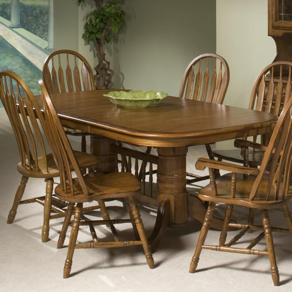 Trestle Table By Intercon   Old Brick Furniture   Dining Room Table Capital  Region, Albany