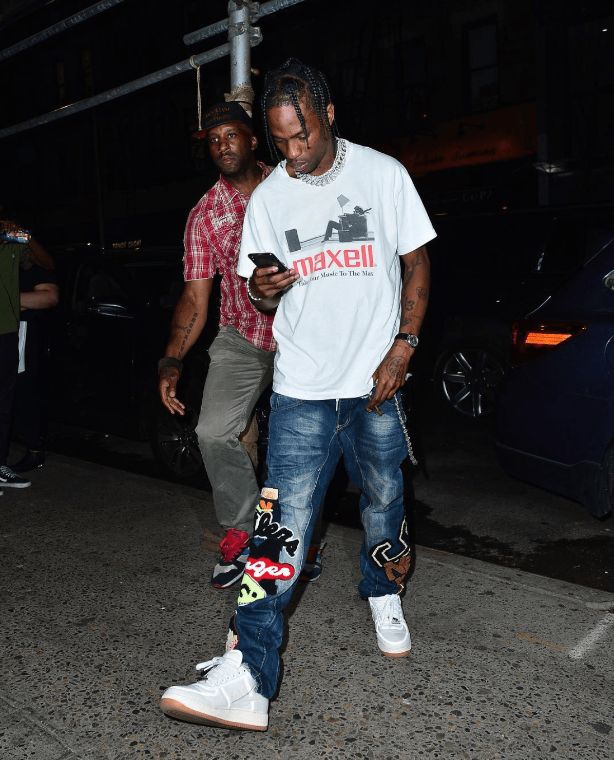 4f0f01ac Travis Scott in the Travis Scott x Nike Air Force 1 Low | Travis ...