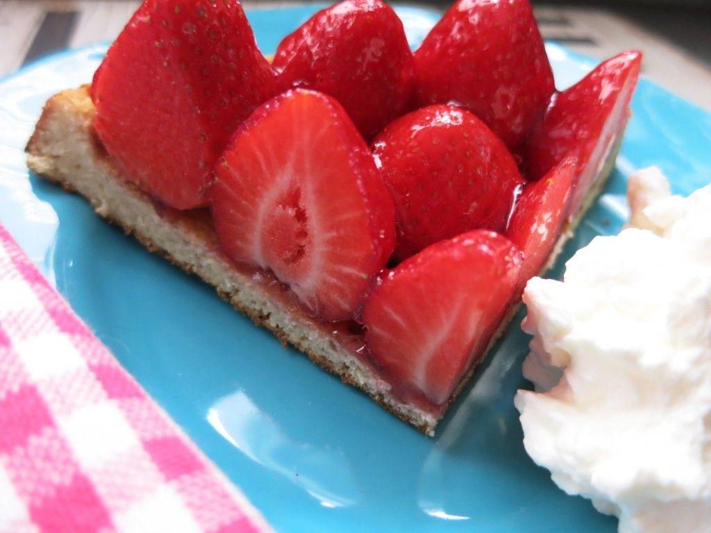 Low Carb Erdbeerbodchen Rezept Low Carb Kuchen Mandelmehl Und