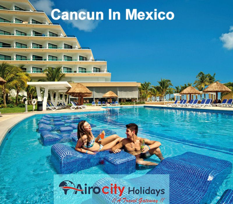 Cancun In Mexico City Is An Ideal Jumping Off Spot For Exploring This Part Of The World Explore Holidays And Discover Best Time