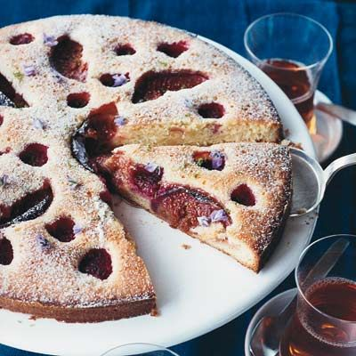 Raspberry-and-Fig Cake