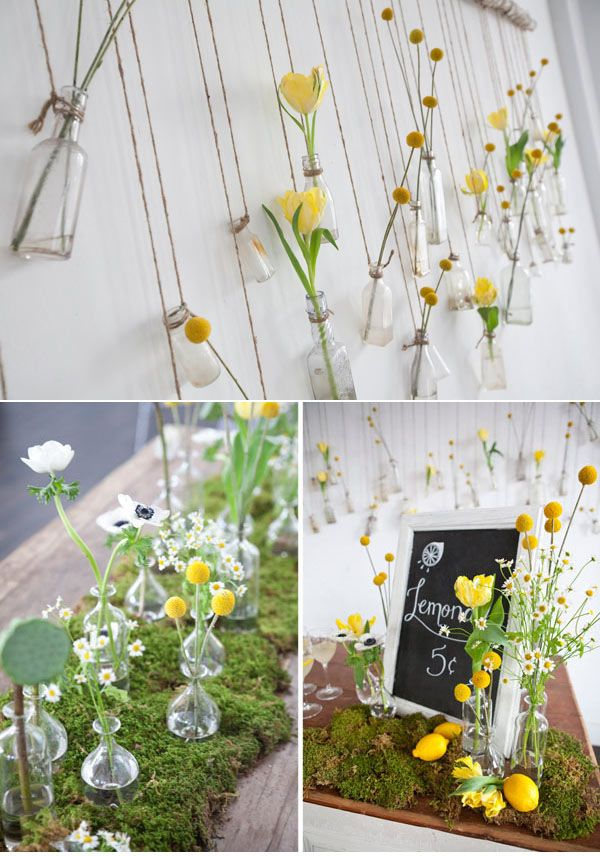 Glass Bottles For Wedding Decorations Awesome Vintage Glass Bottles ~ Ideas For Vintage Rustic Wedding Inspiration