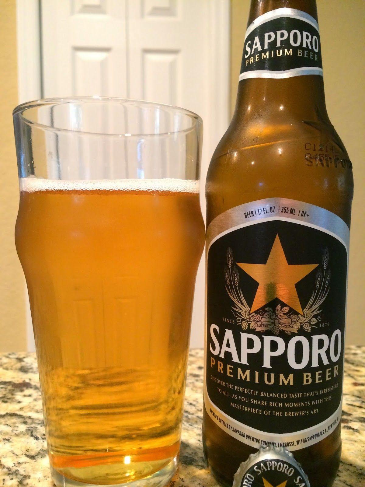 Sapporo Japanese Rice Lager Beer, Premium beer, Beer brands