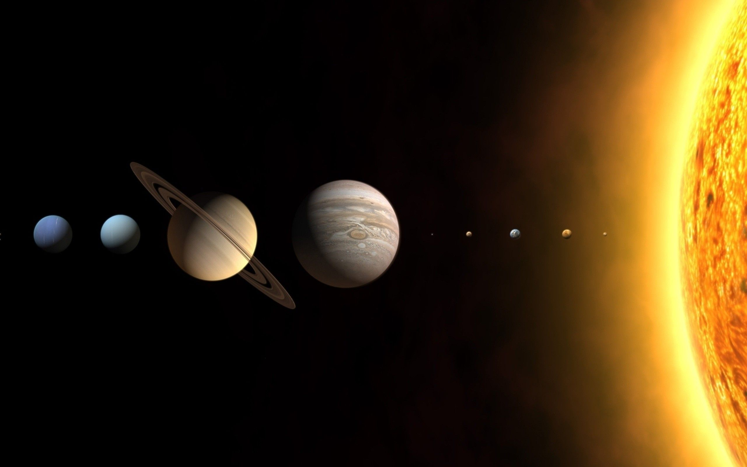 planets solar system wallpaper 1920x1200 - photo #17