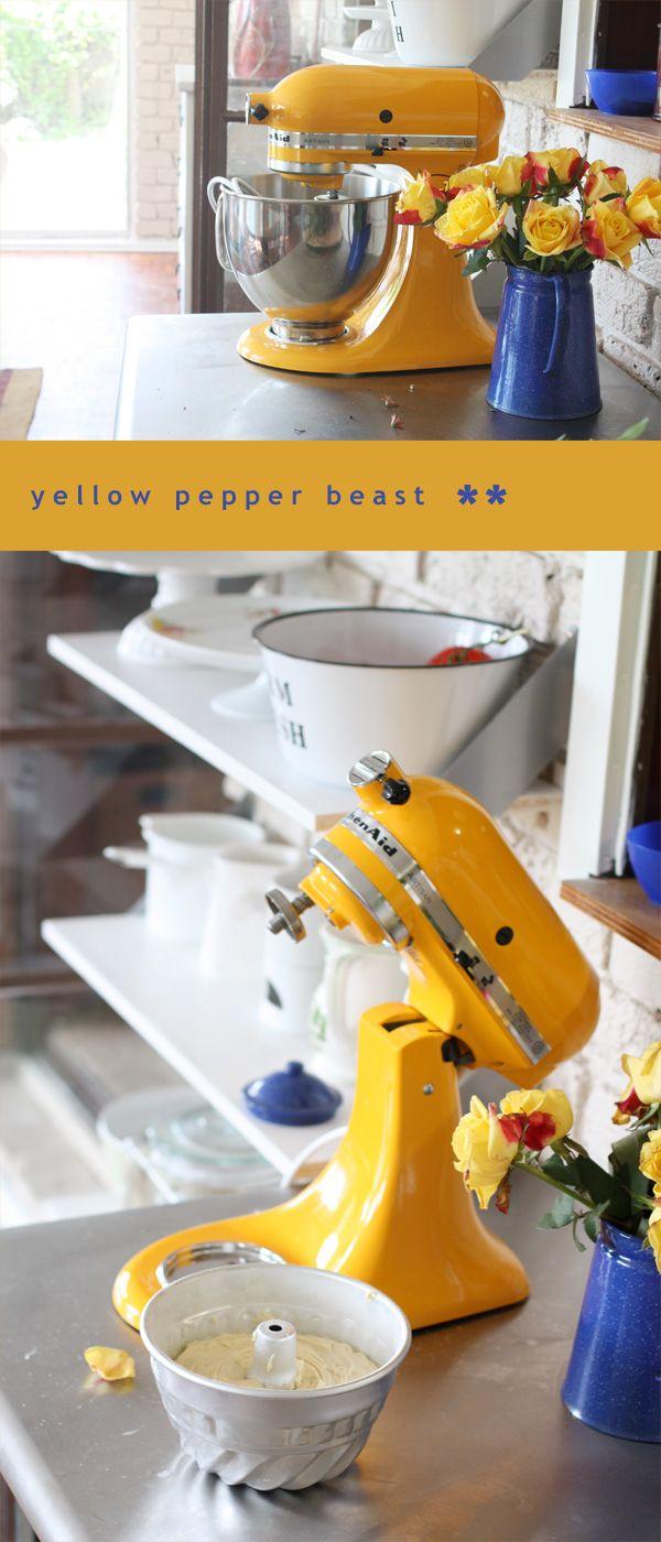 Kitchenaid Artisan Mixer Yellow Pepper