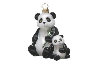 World Wildlife Fund | Giant Panda Radko® Ornament - WWF Gift Center - with $75 donation