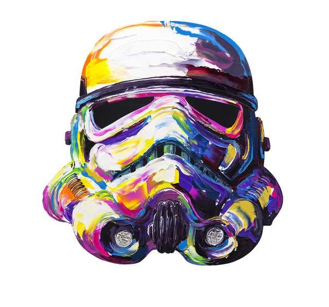 Colorful Stormtrooper Painting Getting My Geek On