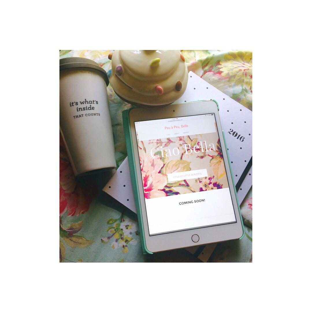 Peu à Peu, Belle  COMING SOON!!! January 1! Follow me for sneak peaks and follow me on Pinterest! #pinterest #followme #blog #blogging #inspire #women #beautiful #belle #bella #lifestyleblogger #blogs #bloggerannonymous #aspire #inspire #women #website