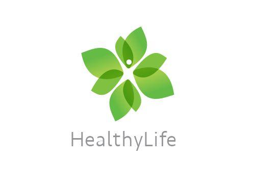 Logo Arztpraxis Heilpraktiker Natur Mensch Gesundheit
