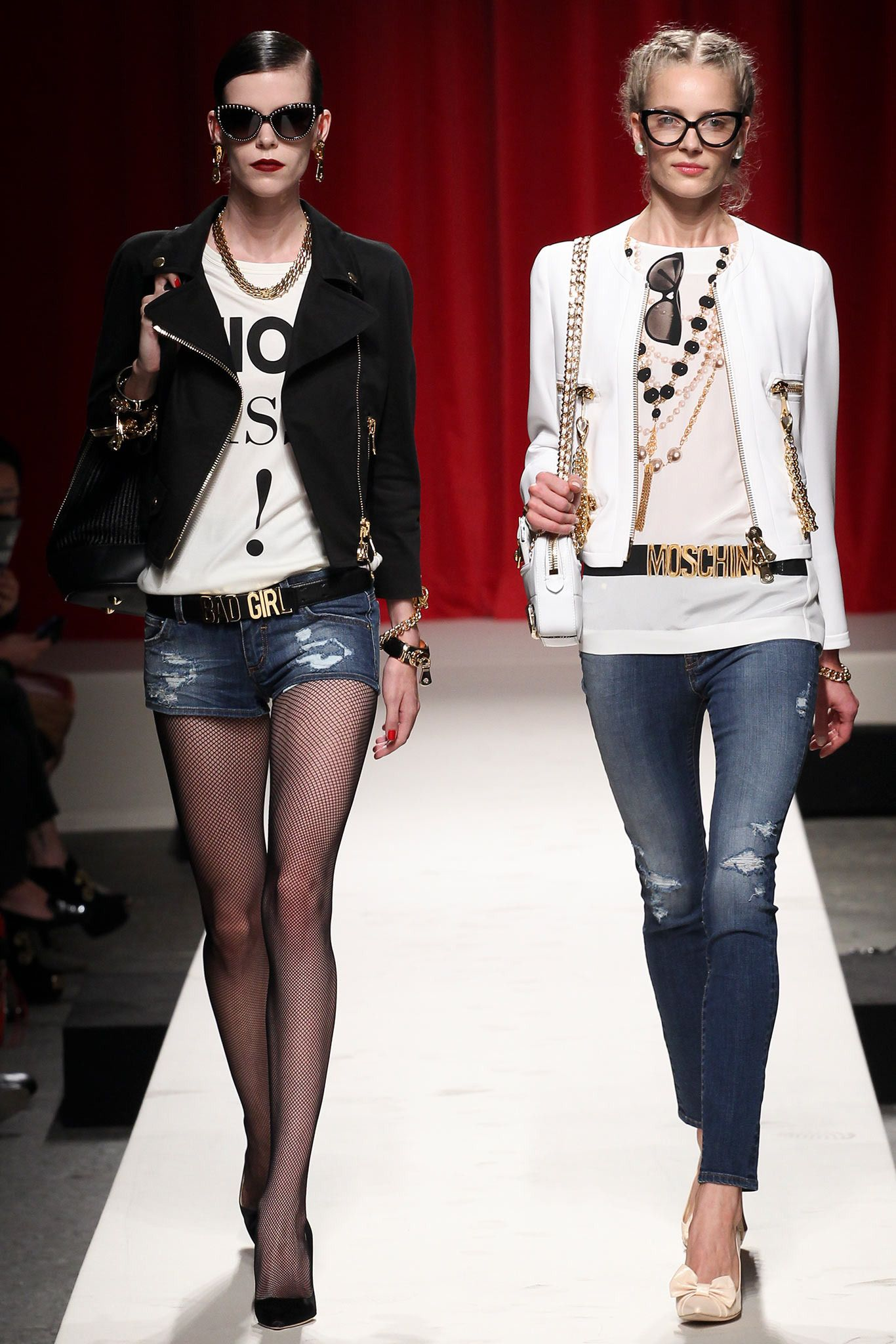 Moschino Spring 2014 Ready-to-Wear.