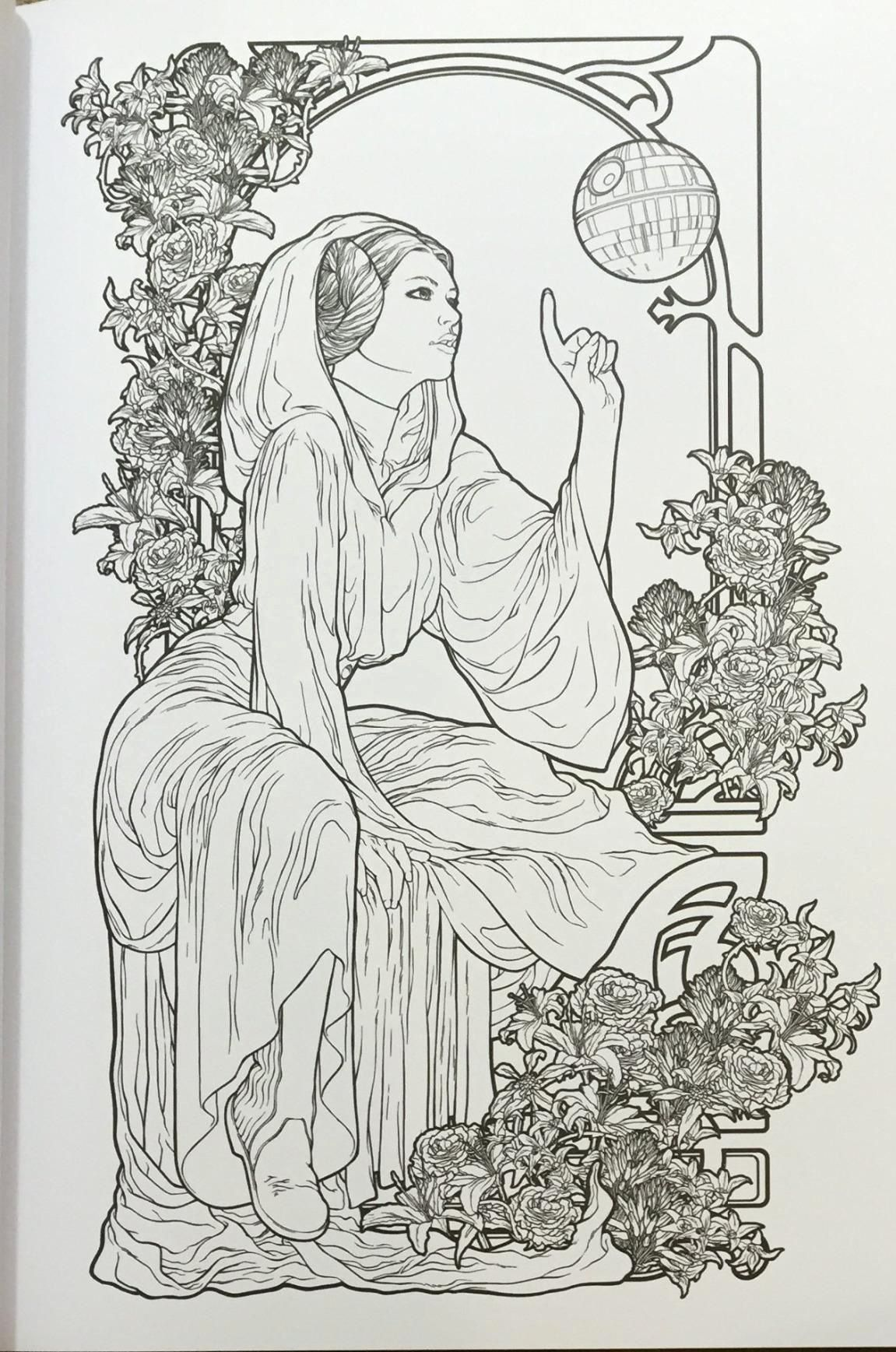 Fashion Coloring Book Pdf Luxury Art Of Coloring Star Wars 100 To Inspire Creativity Star Wars Coloring Book Coloring Book Art Star Wars Drawings