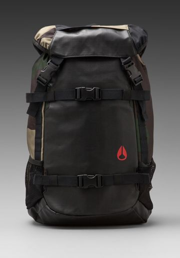 fd45dbb9aa3 Nixon Landlock Backpack in Woodland Camo   Bags   Pinterest ...