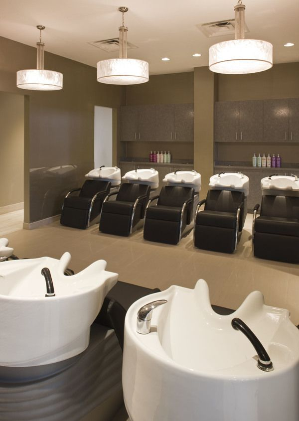 Interior lighting design tricho salon spa by leslie mcgwire asid allied american