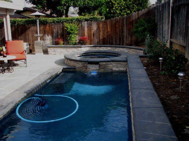 Small Swimming Pools For Small Backyards | My Business   Custom Pool  Building Modern Designs