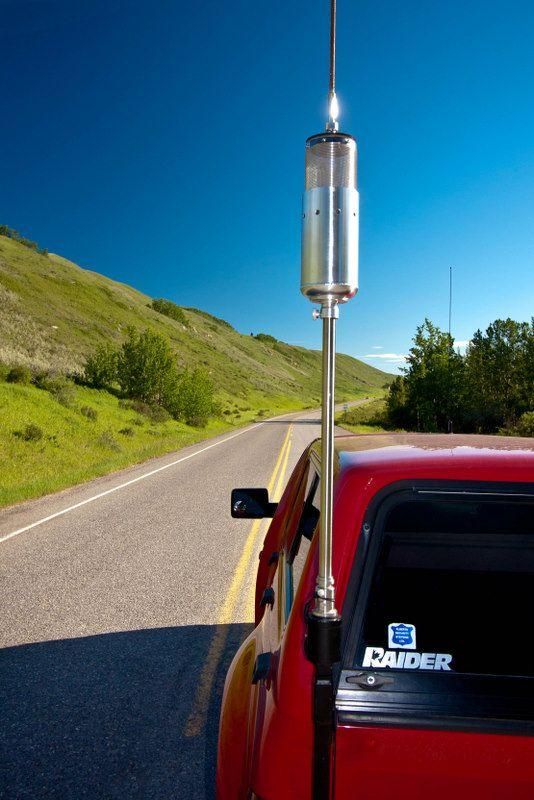 Amateur radio outdoor antenna happens. Let's