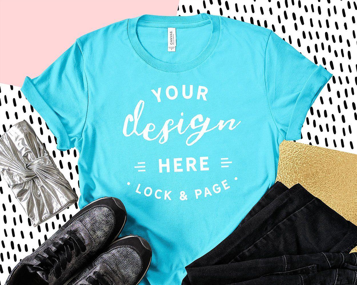 Download Bella Canvas 3001 Graphic Mockups Mockup Free Psd Shirt Mockup Clothing Mockup