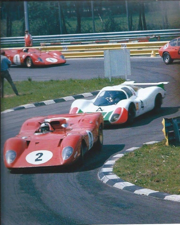 Monza 1969 1000Km. Fighting in a new class. 908 vs 312P.