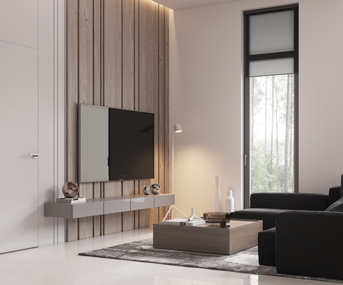 Minimalist Muted Colour Home With Scandinavian Influences With Images Minimalist Living Room Living Space Decor Living Hall