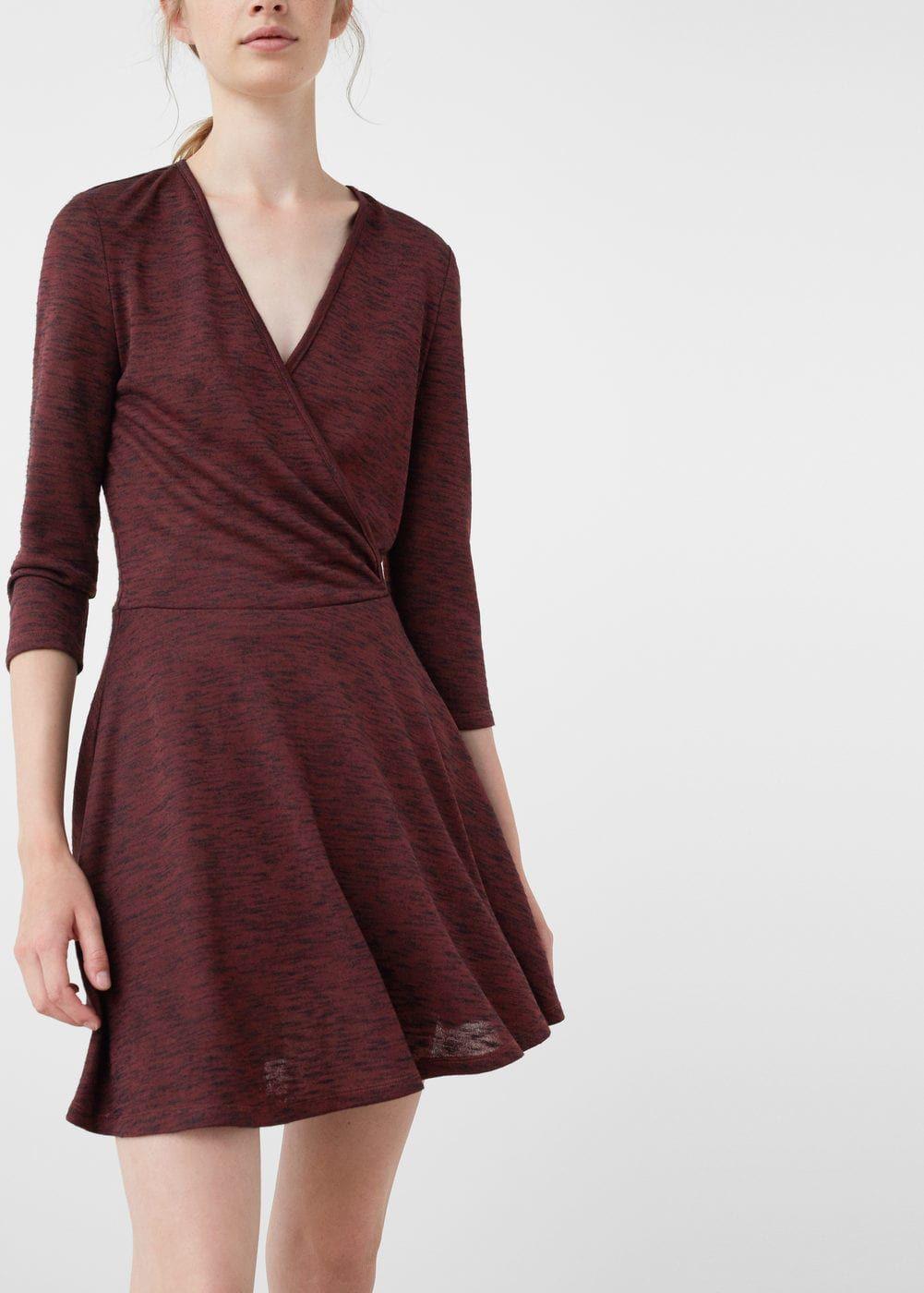 Robe croisée - Femme   Pinterest   Solde hiver, Croisés et Soldes f86e670ff9d8