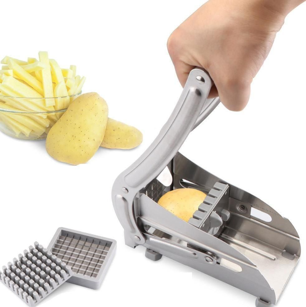 Fruit & Vegetable Tools Other Fruit & Vegetable Tools New French Fry Potato Chip Cut Cutter Vegetable Fruit Slicer Chopper Chipper Blade Cutter Kitchen Cooking Tools Accessories Street Price