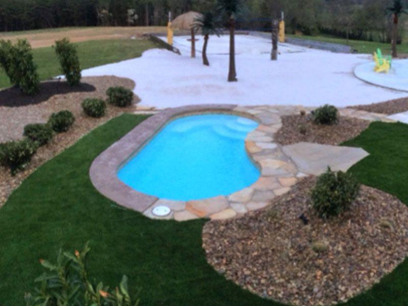 Viking Pools Kidney Designs Small Fiberglass Pools Small Swimming Pools Fiberglass Swimming Pools