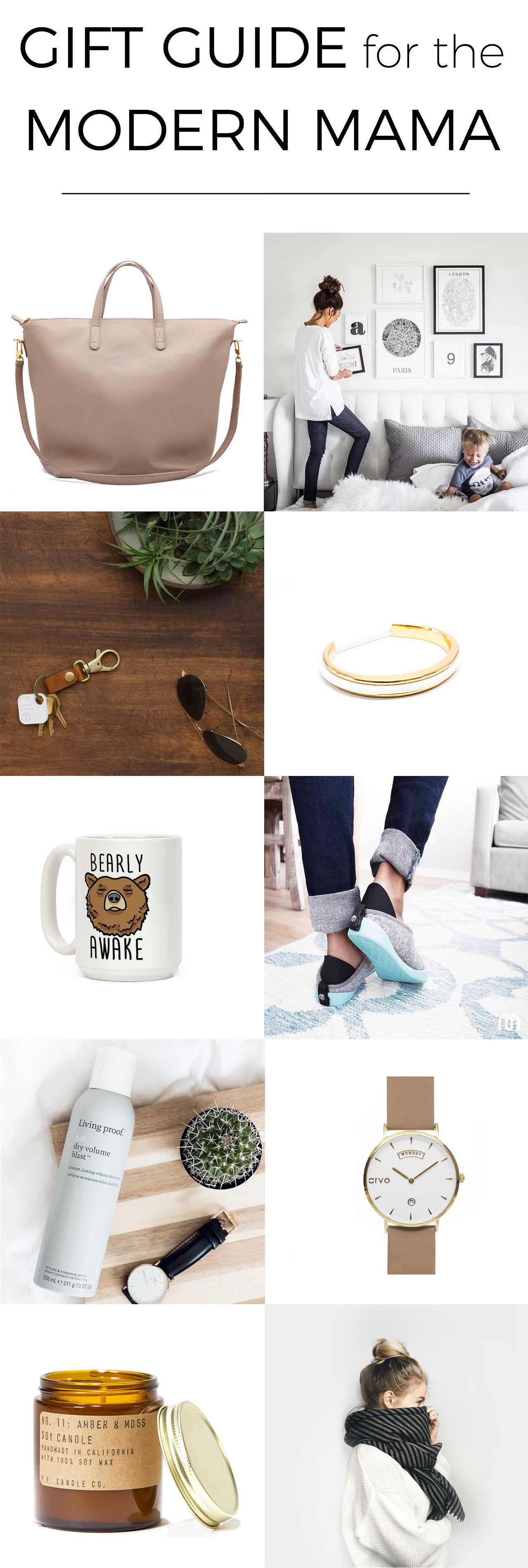 For my fellow baby-wrangling mamas who've been too busy to work on their own wish list! #giftguide