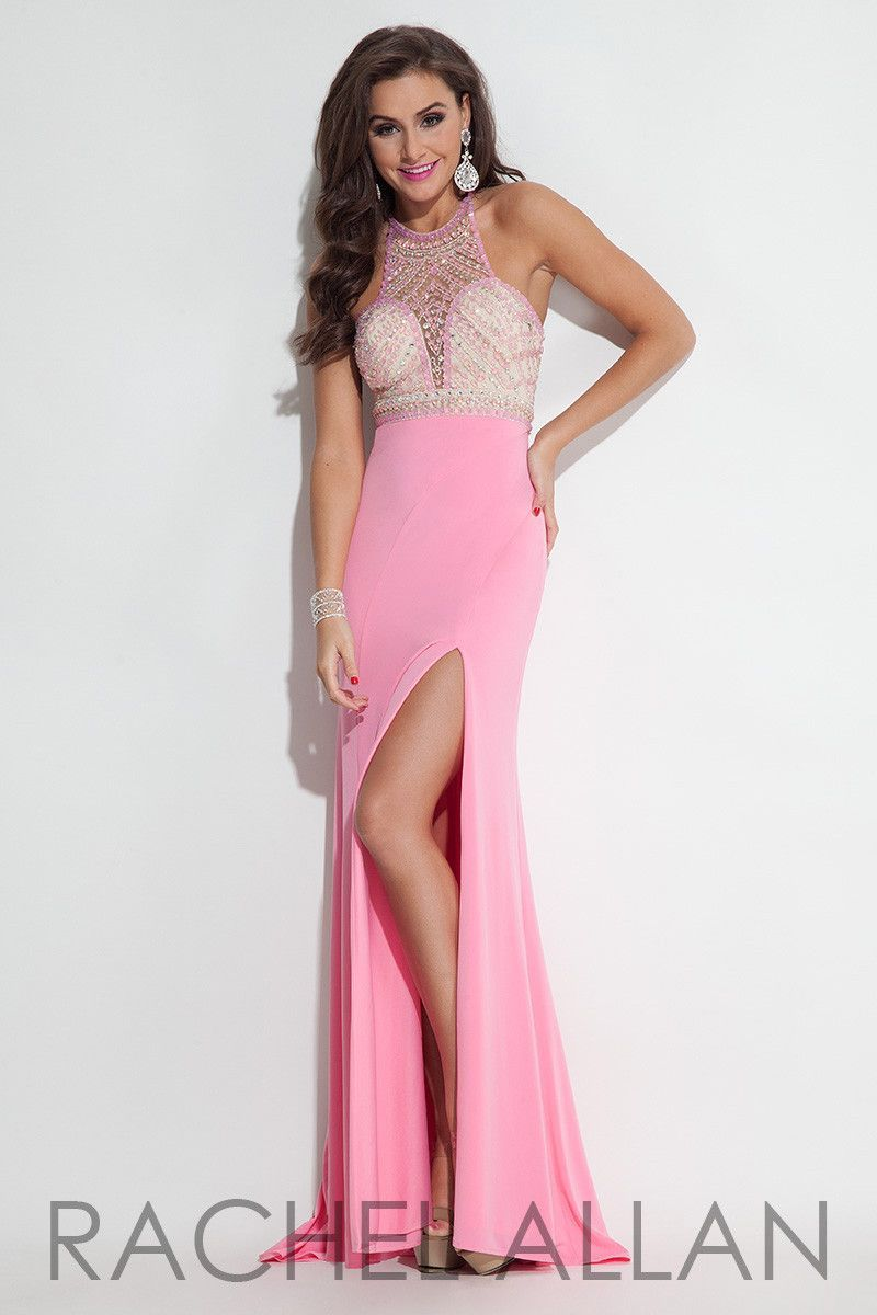 Rachel allen pink size prom dress evening dress rachel