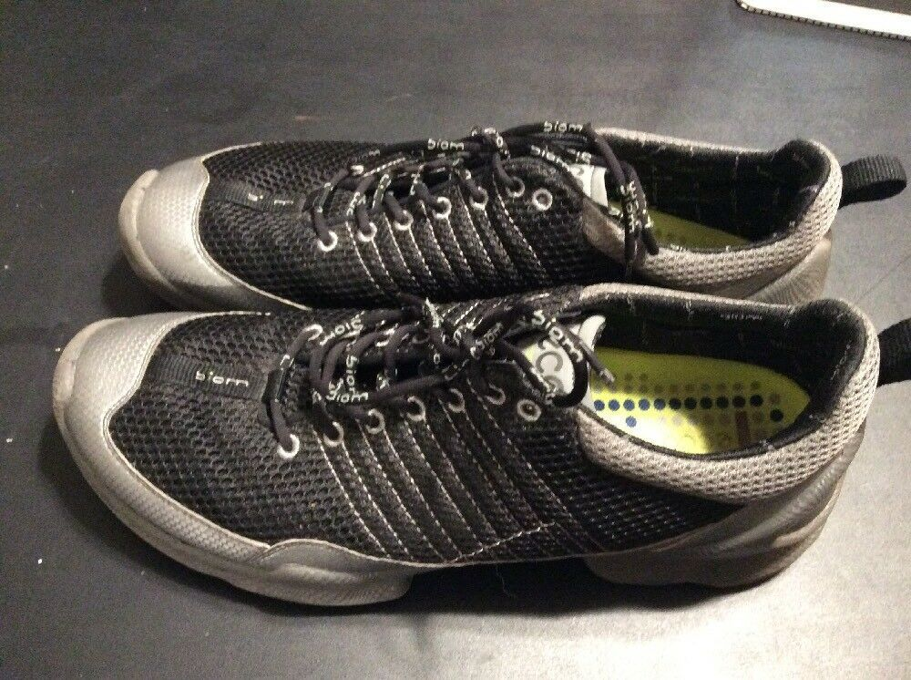 99c0922e24e6 Mens Size 12 Ecco Biom Natural Motion Black Gray Running Shoes Bin 1   fashion  clothing  shoes  accessories  mensshoes  athleticshoes (ebay link)