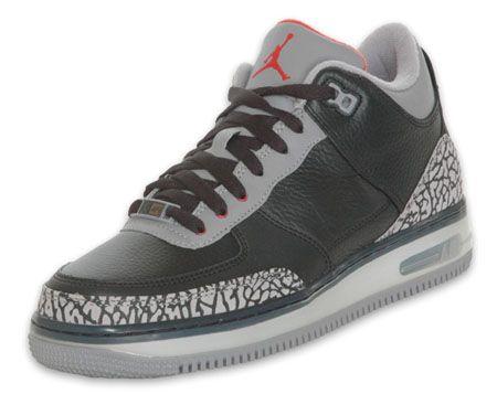Nike Air Jordan Force Fusion 3 - Black