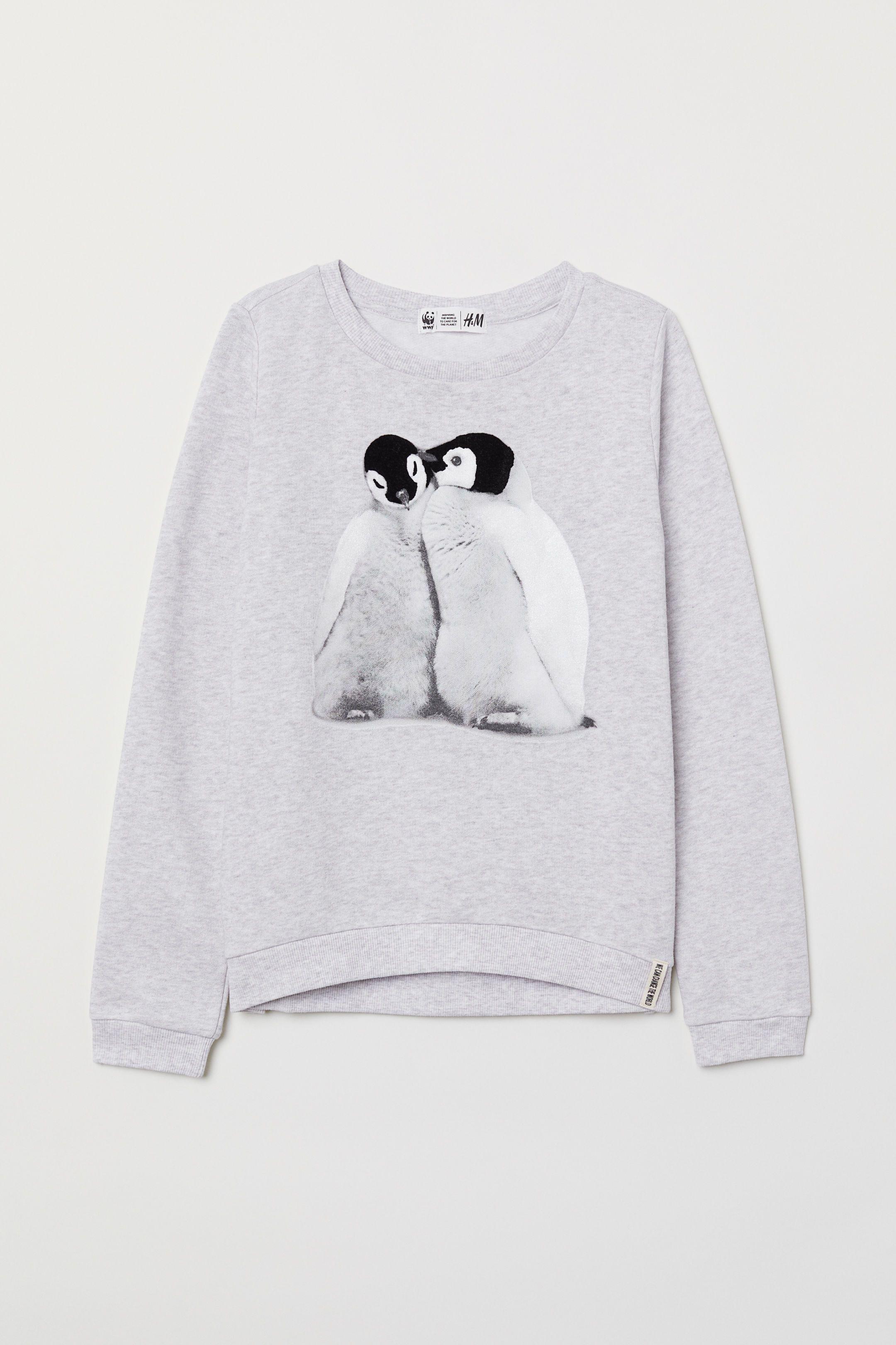 334e282a45b9 Sweatshirt with Printed Design | APPAREL-GIRL | Printed sweatshirts ...