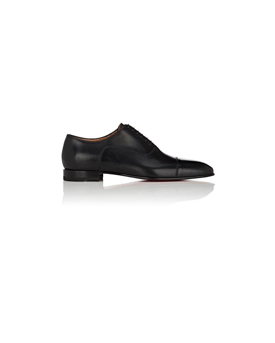 33ecf7a21b40 Men s Black Greggo Leather Balmorals