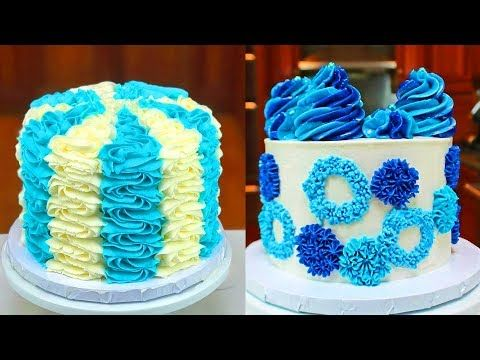 My Favorite Buttercream Cake Decorating Videos | Easy Dessert Ideas | So Yummy Cake Recipes - YouTube #cakedecoratingvideos