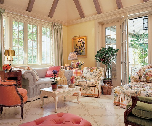 English country living room design ideas english country for Sitting room styles