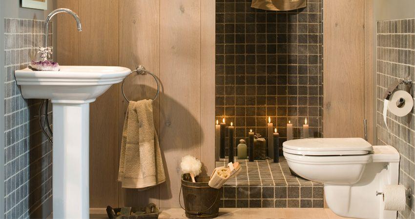 Badkamer traditionals Moisac - 1 | Pinterest - Badkamer, Landelijke ...