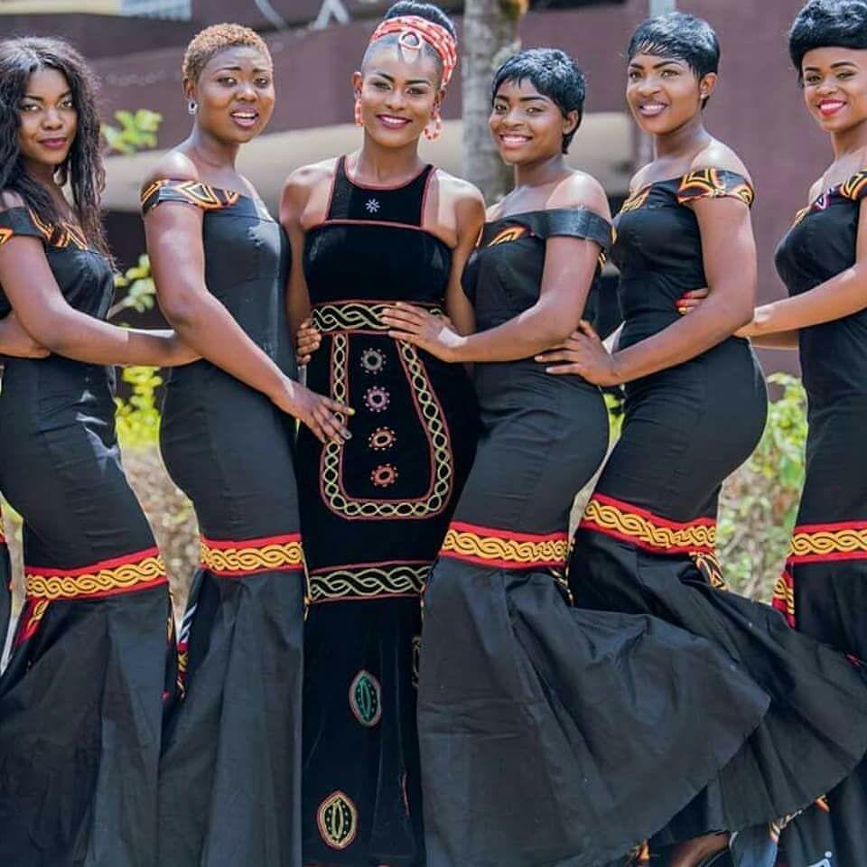 Cameroonian wedding african attire dresses african