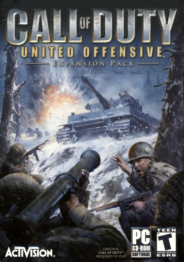 Call of Duty 2 United Offensive | First Expansion Pack for